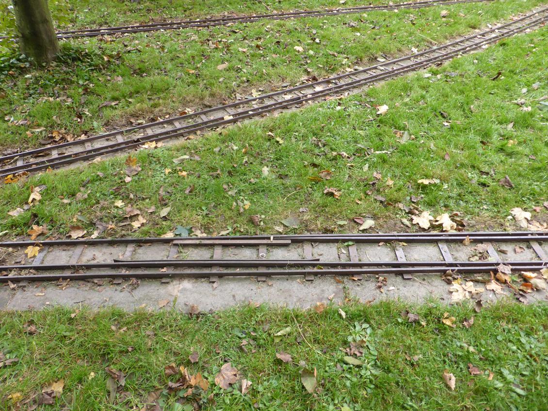 Umspurung 3- auf 4-Schienengleis
