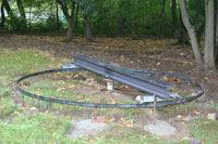 Bautage 2008: Baubeginn der Drehscheibe