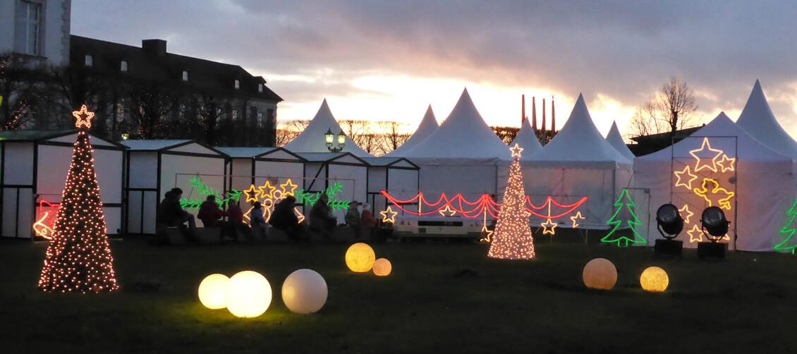 Weihnachtsmarkt im Schloßhotel Bensberg 2013