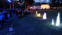 Mobiler Fahrtag Weihnachtsmarkt im Waldbald 2018 (Tag 1)